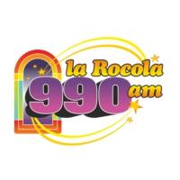 Logo of radio station XECL Rocola 990 AM