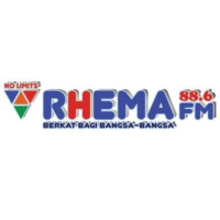 Logo of radio station Rhema FM 88.6