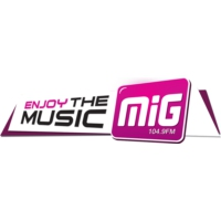 Logo of radio station MiG