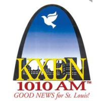 Logo of radio station KXEN