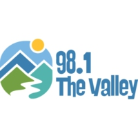 Logo of radio station KSCR 98.1 The Valley