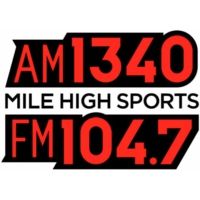 Logo de la radio KDCO Mile High Sports 1340 & 104.7 FM