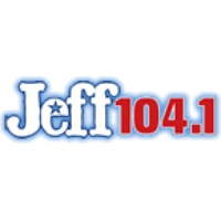 Logo of radio station KZJF Jeff 104
