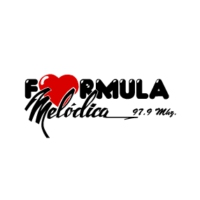 Logo of radio station XETIA Melodica 97.9 FM