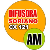 Logo of radio station Difusora Soriano CX 121 AM