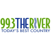 Logo of radio station 99.3 The River