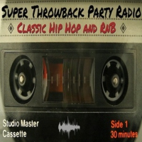 Logo of radio station The Super Throwback Party