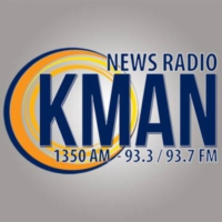 Logo de la radio KMAN 1350 AM