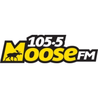 Logo of radio station 105.5 Moose FM