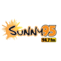 Logo of radio station WSNY Sunny 95