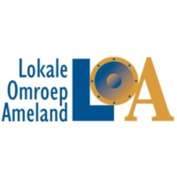 Logo of radio station Lokale Omroep Ameland