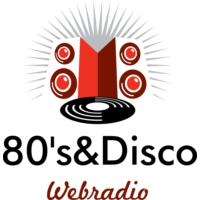 Logo of radio station 80's & Disco