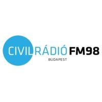 Logo de la radio Civil Rádió FM98