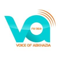 Logo de la radio აფხაზეთის ხმა FM 98.9