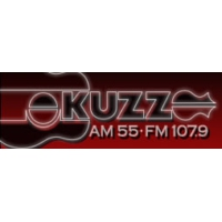 Logo of radio station KUZZ