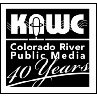 Logo of radio station KAWC 1320