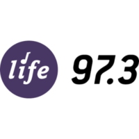 Logo of radio station KDNW Life 97.3 FM