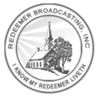 Logo of radio station WFSO Redeemer Broadcasting