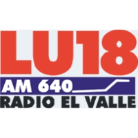 Logo of radio station El Valle LU18
