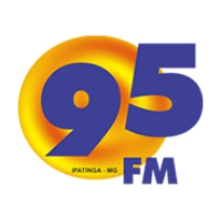 Logo of radio station 95 FM