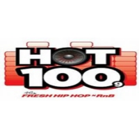 Logo of radio station HOT 100.9