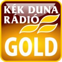 Logo of radio station KÉK DUNA - Gold