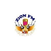Logo of radio station ZiON FM GH