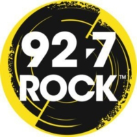 Logo of radio station CJRQ-FM 92.7 ROCK