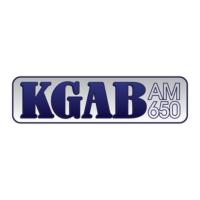 Logo of radio station KGAB 650AM
