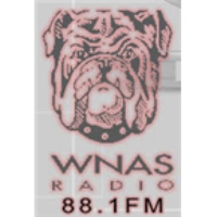 Logo of radio station WNAS
