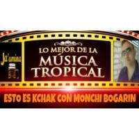 Logo de la radio Esto es Kchak con Monchi Bogarin