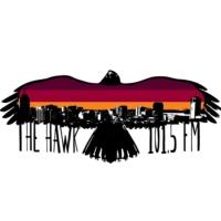 Logo of radio station CIOI-FM 101.5 The Hawk