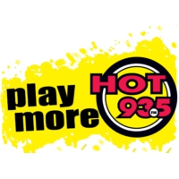 Logo of radio station The New Hot 93.5