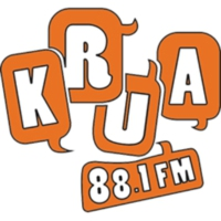 Logo of radio station KRUA 88.1 FM Anchorage