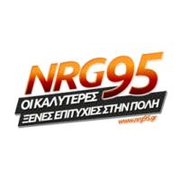 Logo of radio station NRG 95 FM