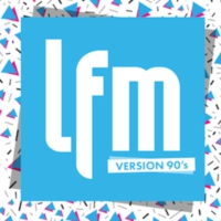 Logo of radio station LFM - Version 90's
