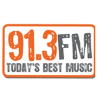 Logo of radio station 91.3 FM