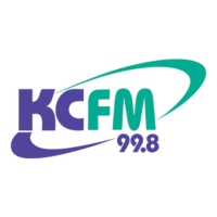 Logo of radio station KCFM 99.8 FM
