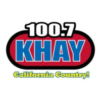 Logo of radio station 100.7 KHAY