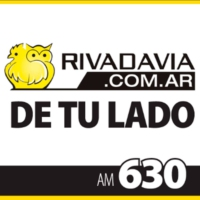 Logo of radio station Rivadavia