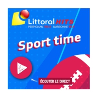 Logo of radio station Littoral Hits Sport Time