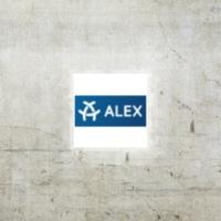 Logo de la radio ALEX