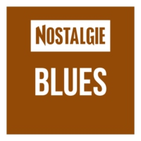 Logo of radio station Nostalgie Blues