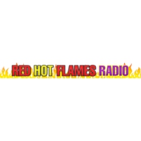 Logo of radio station Red Hot Flames 98.5
