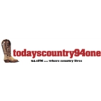 Logo of radio station Today's Country 94.1
