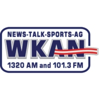 Logo of radio station WKAN AM 1320