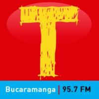Logo of radio station Tropicana Bucaramanga