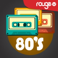 Logo of radio station Rouge 80's