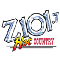 Logo of radio station KGOZ 101.7