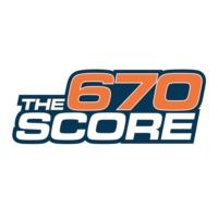 Logo of radio station WSCR 670 AM